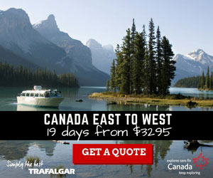 canada east to west