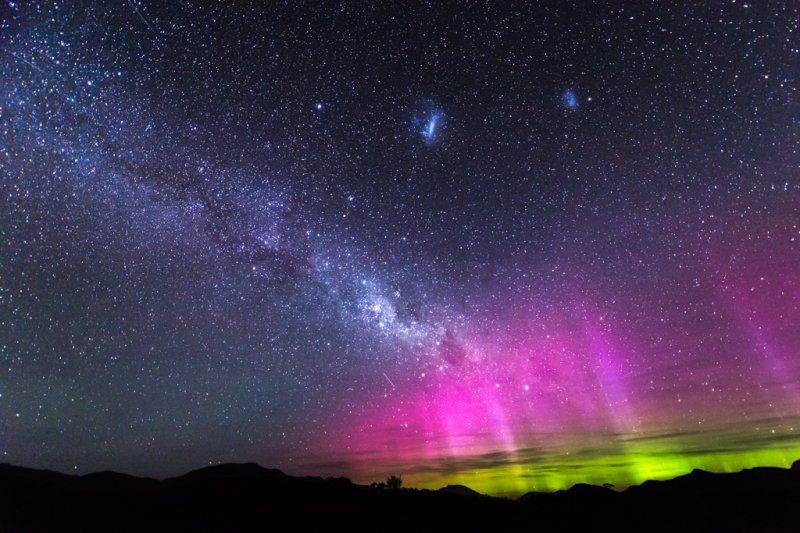 Southern Lights in Tasmania. Photo: Matt Glastonbury